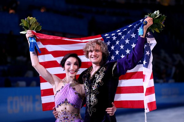Who Is Charlie White Dating Hint Not His On Ice Partner: 2014 Fantasy Olympics